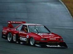 Nissan Skyline Super Silhouette racer, absolute awesome looking race cars, the k10 micra looks especially awesome.