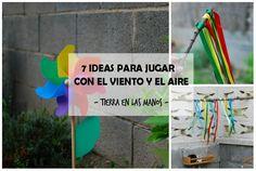 7 ideas para jugar con el viento y el aire