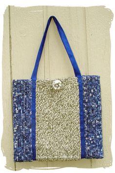 Locker Hooking Tote Bag Pattern Instant by AlaskaLockerHooking