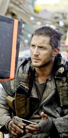 Tom Hardy: Mad Max Fury Road ...he's so gorgeous it almost hurts.