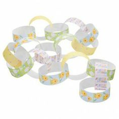 Easter themed paper chain great for decoration. 120 pieces in 1 pack. Easter Half Term, Cancer Research Uk, Paper Chains, Easter Party, 70th Birthday, Bake Sale, Paper Plates, Easter Crafts, Doilies