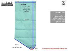 Millbank bag - WakeUpCut Bushcraft, Looking Up, Wake Up, Language, Pattern, Tutorials, Bags, Outdoor, Handbags