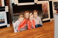 "Commissioned painting of children. 30"" x 40"" acrylic on canvas"