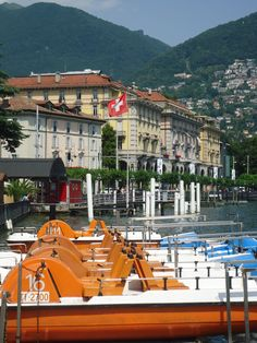 Lake Lugano, Switzerland! Alowing yourself to deep breathing & Relax around there!