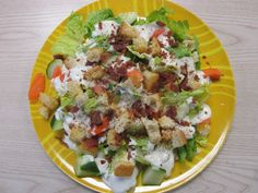 The B I G salad!  (Lunch for The Meal : Documenting a Global Snack - ArtHouse Co-op)