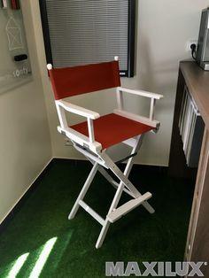 Designová venkovní skládací dřevěná barová židle