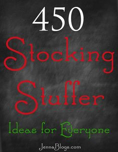450 Stocking Stuffer Ideas! Merry Little Christmas, Christmas Is Coming, Christmas 2014, Christmas Goodies, Handmade Christmas, Winter Christmas, Christmas Classics, Family Christmas, Christmas Projects