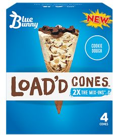 Blue Bunny Ice Cream, Sugar Cones, Unsweetened Chocolate, Hot Fudge, Cold Meals, Corn Syrup, Natural Flavors, Cookie Dough, Treats