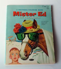 1960s Mister Ed Coloring Book by PoorLittleRobin on Etsy, $6.00