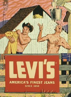 Levi's - America's Finest Jeans (1940's)