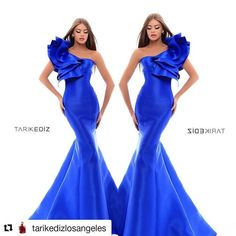 Gorgeous electric blue satin dress for @tarikedizlosangeles #Repost @tarikedizlosangeles (@get_repost)  Every day is a fashion show & the world is your runway... #TarikEdizLosAngeles#InStockkNow#50202#EveningGowns#LAFashionDistric#Showroom#SpecialOcassion - Celebrity #Fashion Style Culture Couture Advertising Culture #Beauty Editorial #Photography Magazines Supermodels Runway Models