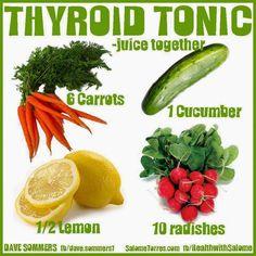 A TUTTA FRUTTA diario di una fruttomane: tiroide alimenti