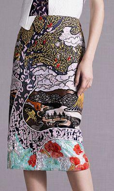 FD5A1 - Mary Katrantzou | SS14 - colours - prints - lineworks