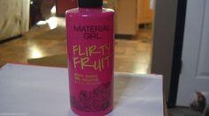 1 MATERIAL GIRL ** FLIRTY FRUIT ** BODY WASH 8.4FL OZ  #MATERIALGIRL