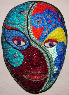 Recycled Glass Bubbles incorporated into this mask.