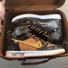 Louis Vuitton Shoes, Vuitton Bag, Lv Sneakers, High Shoes, Custom Bags, Jordan 1, Hiking Boots, Air Jordans, Nike Air