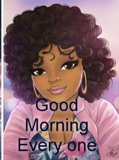 Black Girl Art, Black Women Art, Black Art, Black Girl Magic, Art Girl, Body Positive Quotes, Magic Art, Cute Images, Female Art