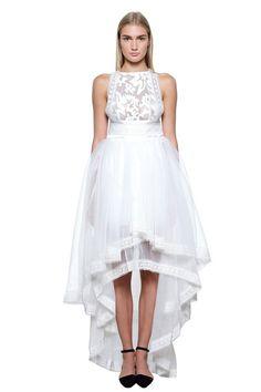 Kira Dress - White