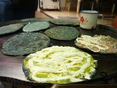 Quesadillas mexicanas de maiz azul¡¡¡