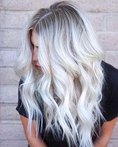 Platinum Blonde Haarfarbe
