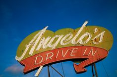 Angelo's Drive In | Long gone, formerly at 710 W Olive Ave, Fresno, CA 93728.