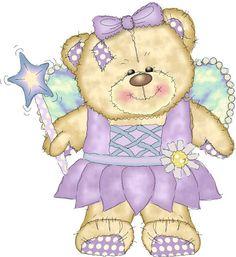 fée violette - fairy bear