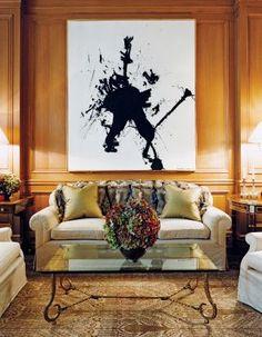 Traditional Living Room by David Kleinberg Design Associates via @Kimberly Gould Digest #designfile