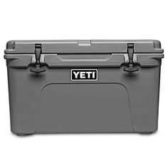 Shop Yeti Coolers, Products on Country Club Prep l TUNDRA COOLER 45 IN CHARCOAL BY YETI Yeti 45, Yeti Tundra 45, Cooler Box, Dry Ice, Up For The Challenge, Construction Design, Polyurethane Foam, T Rex, Charcoal
