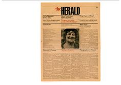 "The Herald newspaper – massimo & lella vignelli, 1971 'in 1971, there were few well-designed newspapers in the world. ""the herald"" project allowed us to open up the field and design a newspaper on a grid of six columns and 16 modules hight with one typeface: one size for text, two sizes for titles and italic for captions; one module for titles. there were few exceptions. the grid provided flexibility to the layouts and speeded up the design and production processes.'"