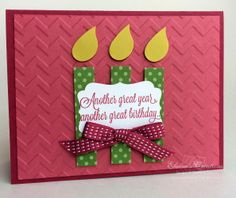 Stampin Up Another Great Birthday Card Pop Video Tutorial Elaines Creations