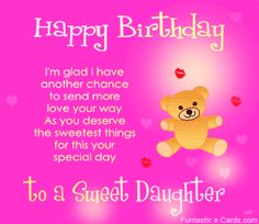 Beau Happy Birthday Quotes For Daughter | Thread: PIHOO   U Made My Life Darling