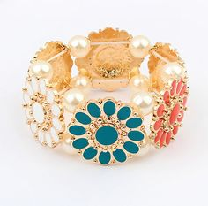 Colorful Summer Bohemian Cuff from LilyFair Jewelry