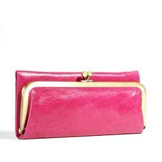 Hobo Fuchsia Rachel Clutch Wallet - Hobo Wallets - Designer Wallets