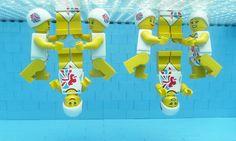 Los Juegos Olímpicos en Lego