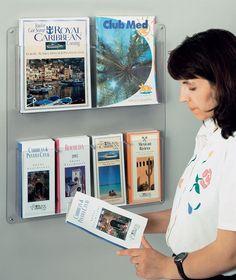 church literature racks wall display - Google Search | Ministry ...