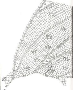 As Receitas de Crochê: Toalha redonda em croche