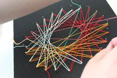 Site with ideas for string art