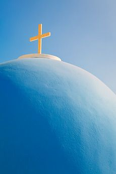"""This Says """"Greece"""" Stock Imagery, Santorini Greece, Place Of Worship, Greece Travel, Greek Islands, Crete, Architecture Details, Old Photos, Most Beautiful Pictures"""