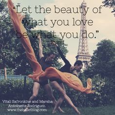 Love what you do #dance #quote  www.theballetblog.com