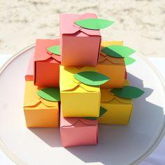 fruit favor boxes