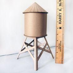 fun DIY for city kiddos! water tower DIY kit