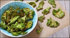 Simple Oven-Baked Parmesan Kale Chips