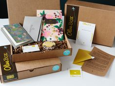 Olive Box - for paper lovers