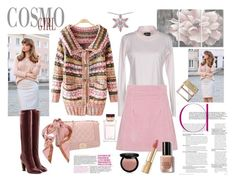 """""""Shades of Pink"""" by sandralee33333 ❤ liked on Polyvore featuring Dasein, Moschino, Dolce&Gabbana, Stupell, Marc Jacobs, House of Holland, Bobbi Brown Cosmetics, NYX and Sephora Collection"""