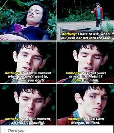 Why to love Colin THAT MOMENT MADE MY CRY 4957665498765987645 TIMES HARDER!!!!!!!