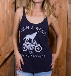 INR Howling Women's Tank – Iron and Resin