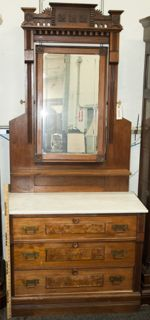 Victorian Eastlake Dresser With Mirror Bestdressers 2019