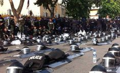 Police in Thailand Lay Down Weapons and Join with Protestors http://www.trueactivist.com/police-in-thailand-lay-down-weapons-and-join-with-protestors/#.V4P0eqQo6Ks.facebook