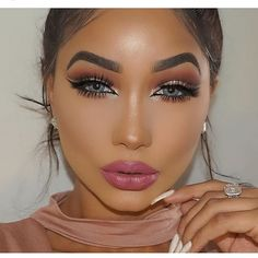 I love this makeup look