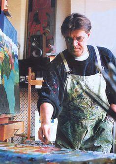 ART & ARTISTS: Jeroen Krabbé, German painter and actor.